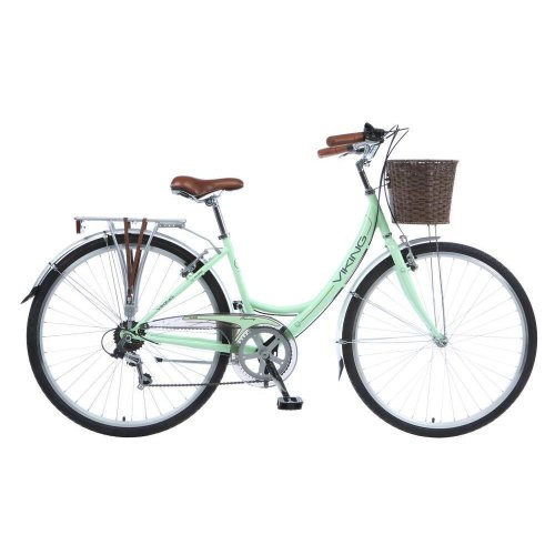 Viking Tuscany Ladies 700c 6 Speed Traditional Heritage Hybrid Bike Bicycle