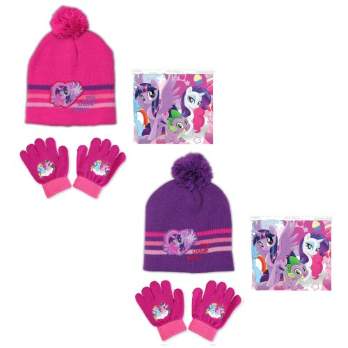 My Little Pony Hat, Snood and Gloves set