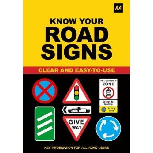 Aa Know Your Road Signs