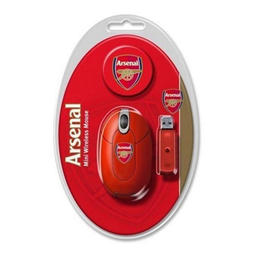 Arsenal Mini Wireless Mouse: Official Merchandise (PC) - Ideal Gift