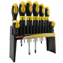18pc Mixed Screwdriver Set | Slotted, Phillips & Torx Screwdrivers