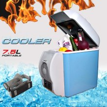 Car Truck Cooler Refrigerator Fridge Portable Travel Freezer Warmer