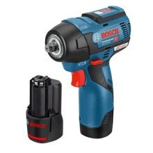 Bosch Professional GDS 12V-115 Cordless Impact Wrench with Two 12 V 2.5 Ah Lithium-Ion Batteries - L-Boxx