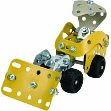 Meccano Design Starter Plough Yellow 2728