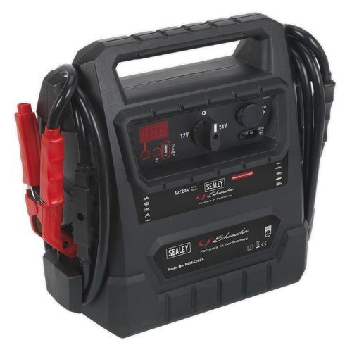 Sealey PBI4424GS RoadStart® Emergency Jump Starter 12/24V 4600 Peak Amps - DEKRA Approved