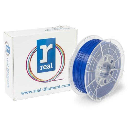 Real Filament 8719128324869 Real PLA, Spool of 1 kg, 1.75 mm, Blue