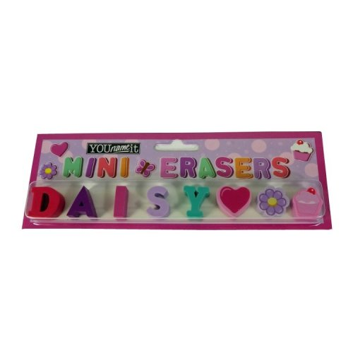 Childrens Mini Erasers - Daisy