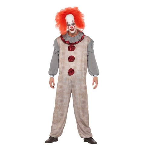 IT Pennywise Vintage Clown Costume   Halloween