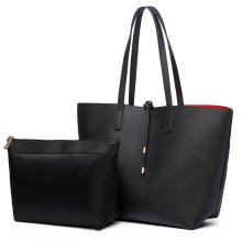 Miss Lulu Reversible Shoulder Handbag Tote Bag