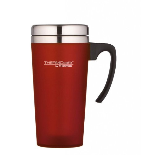 420ml Red Thermocafe Zest Travel Mug - Thermos 04l Soft Touch -  mug travel thermos red thermocafe zest 04l 420ml soft touch