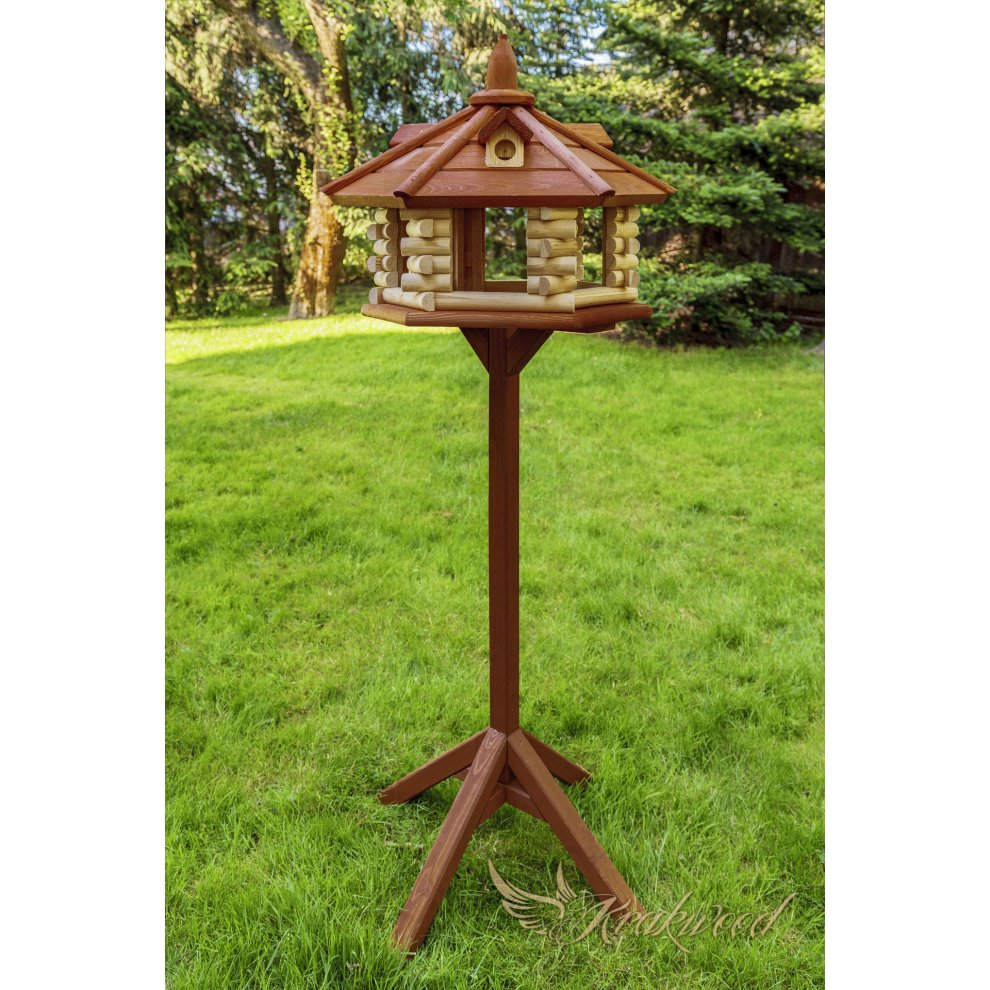 Swell Exlusive Brand New Wooden Bird House Table Home Interior And Landscaping Ferensignezvosmurscom