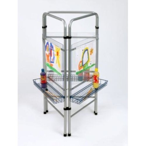 Childrens 3 Sided Art Easel (A1237)