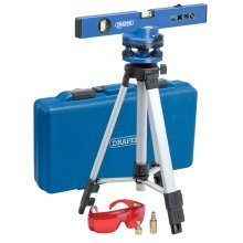 Draper Laser Level Kit With Tripod