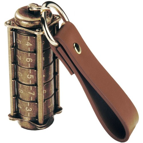Traditional Cryptex Style Encrypted USB