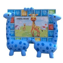 Lovely Giraffe Baby&Kids Picture Frame Photo Frames Plastic Frames,Blue