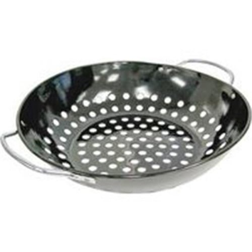 Onward Manufacturing 0556894 GrillPro Deluxe Non-Stick Wock Topper, 11 in. diameter x 2.50 in. Depth - Porcelain Coated