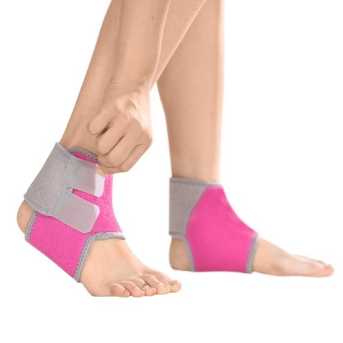 Kids Children Compression Ankle Brace Support Sleeve Foot Stabilizer Ankle Guard Pads for Arthritic Pain Relief & Injury Rehabilitation, Elastic...