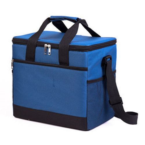 Outdoor Picnic Bag 20L  Large Soft Cooler Insulated Picnic Lunch  Bag for Grocery, Camping, Car, #D