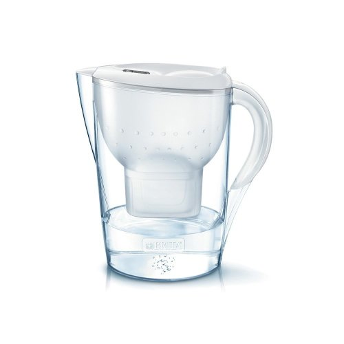BRITA White Marella XL Water Filter Jug & MAXTRA+ Cartridge