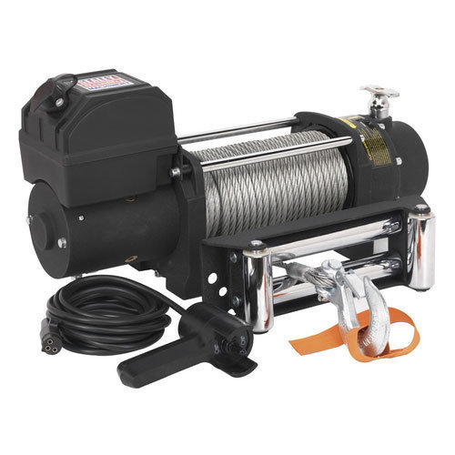 Sealey SRW4300 12V Self Recovery Winch 4300kg Line Pull