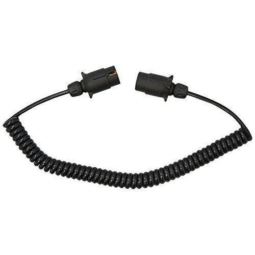Connecting Lead Curly 2.5m 12n 2x7pin Plugs Dp - 25m Extension Maypole 7pin -  lead curly 25m 12n extension maypole plugs 7pin 2x7pin 5881a