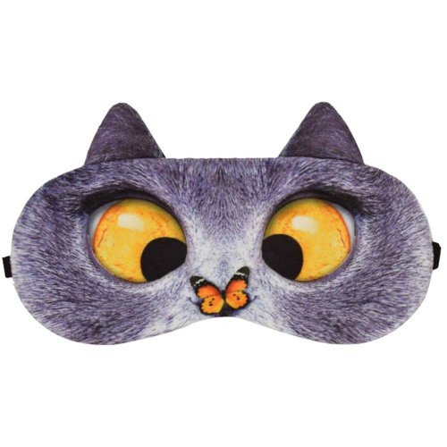 a2a6e5b92 Eccentric Cat Expression Sleeping Eye Mask Eye Cover Sleep Goggles on OnBuy