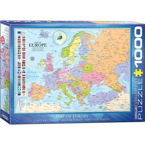 Eg60000789 - Eurographics Puzzle 1000 Pc - Map of Europe