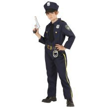 8-10 Years Boys Policeman Costume