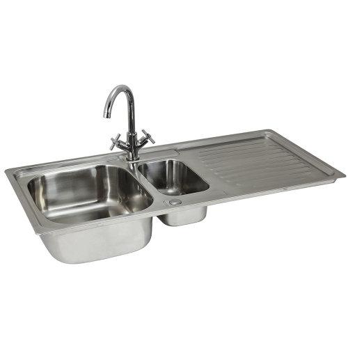 Premium Stainless Steel Kitchen Sink & Victoria Tap
