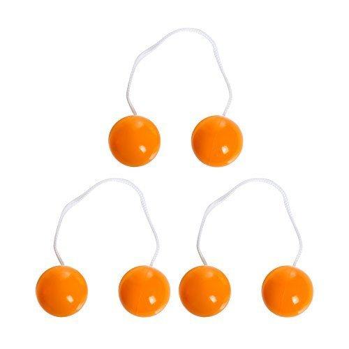 BolaBall Replacement Balls, Orange, Set of 3