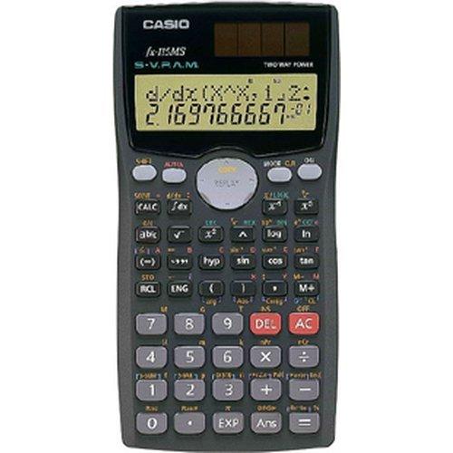 Casio FX-115MS Pocket Scientific calculator Black calculator