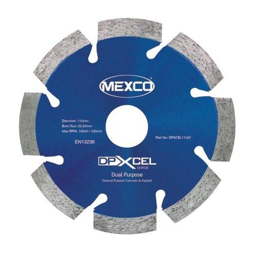 Mexco DPXCEL 115mm Dual Purpose Abrasive Diamond Blade