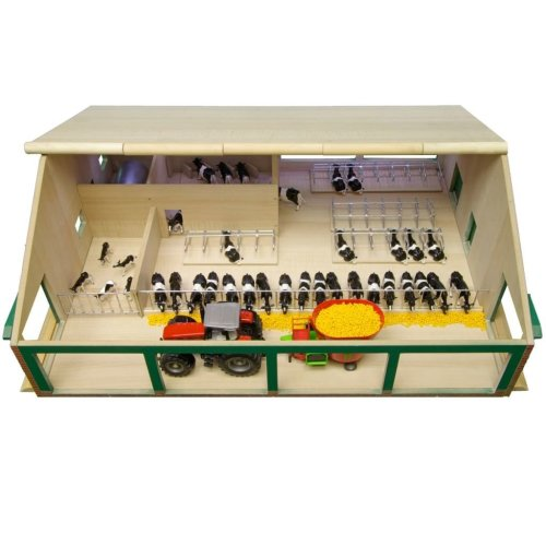 Kids Globe Cow Barn with Milking Parlour 1:32 610495