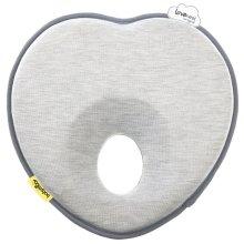 Babymoov Lovenest Original Baby Support Flat Head Prevention Pillow, Smokey Grey