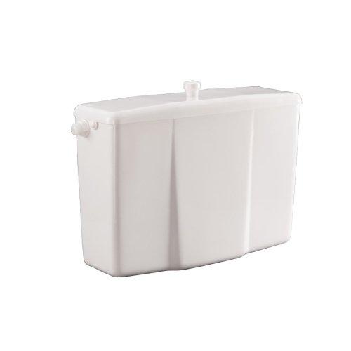 White Plastic Low-level Wc Toilet Bathroom Flush Cistern Tank Lever Flush