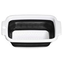 Zing Colander, 23 cm - Black/White