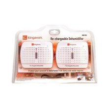 Kingavon Bb-Dhm100 Twin Pack Rechargeable Dehumidifier