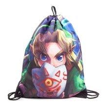 Nintendo Legend Of Zelda Unisex Links Majoras Mask Gymbag- Multi-Colour