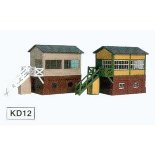 Signal box (lineside) - Kestrel Design GMKD12, N building plastic kit, free post