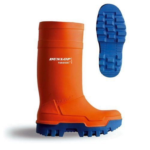 Dunlop C66234305 Purofort Thermo Safety Orange Wellingtons Size 5