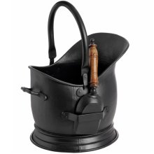 Black Coal Bucket With Shovel -  coal black bucket shovel wonderful storage soloution all your