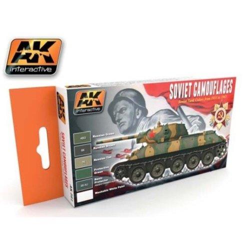 Ak00561 - Ak Interactive Set Soviet Camouflages