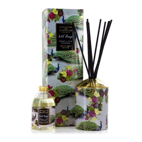 Ashleigh & Burwood Wild Things Luxury Scented Reed Diffuser Shake a Tail Feather - Mimosa