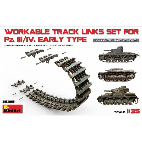 Min35235 - Miniart 1:35 - Pz.kpfw Iii/iv Early Type Track Links