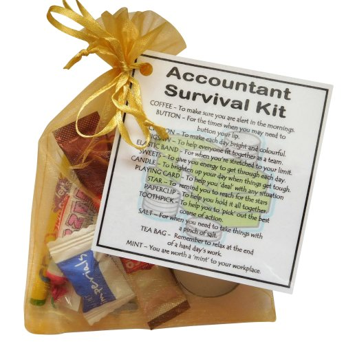Accountant's Survival Kit - Great gift for an accountant