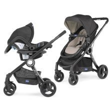 Chicco Urban Stroller Duo Plus Travel System - Dune