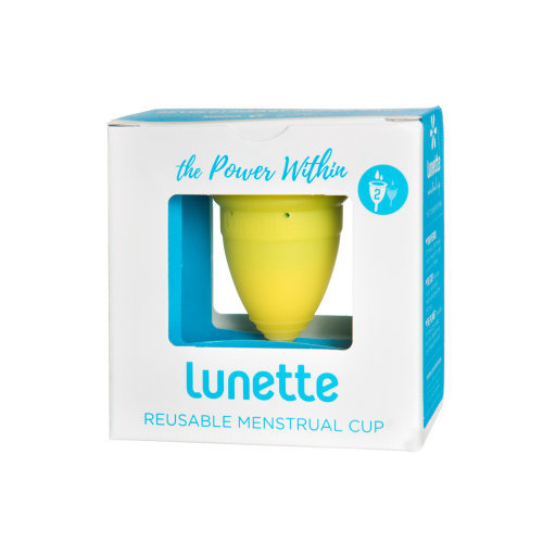 Lunette  Menstrual Cup Yellow Model 2 Single