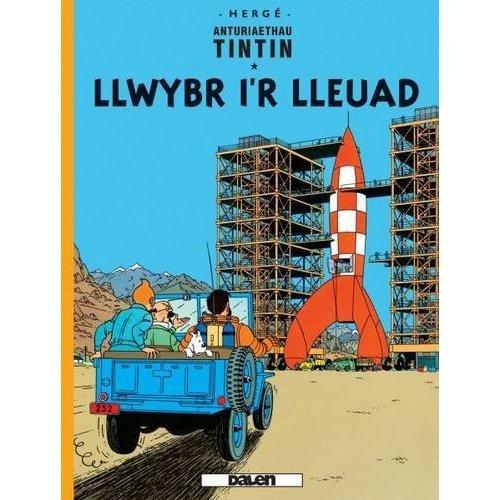Cyfres Anturiaethau Tintin: Llwybr i'r Lleuad