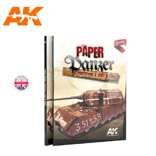 AKBOOK246 - AK Book - Paper Panzer, Prototypes & What If Tanks