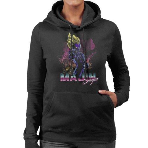 Retro Majin Saiyan Dragon Ball Z Women's Hooded Sweatshirt